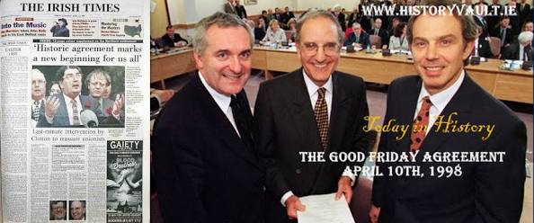 Anglo Irish Good Friday Agreement Has It Achieved Its Aim 20yrs