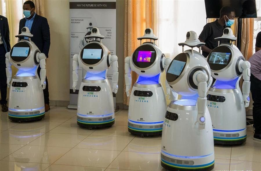 As the country gears up to restart commercial flights, the Federal Airports Authority of Nigeria is set to deploy robots in its airports all over the